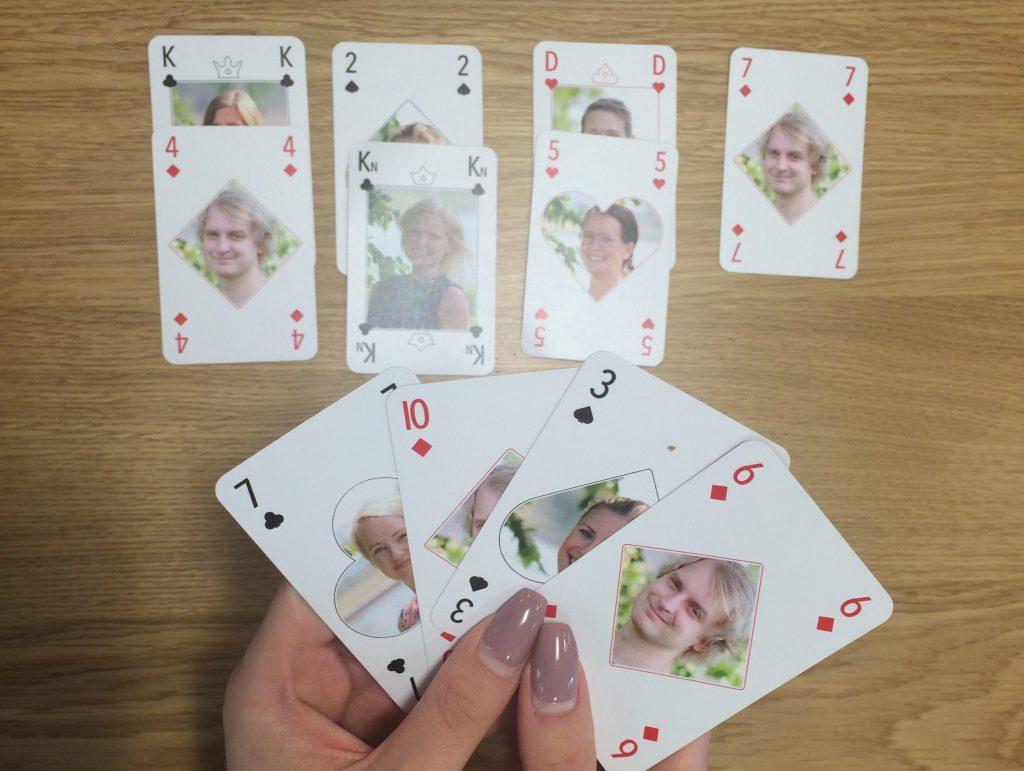 Kortspel med dina bilder