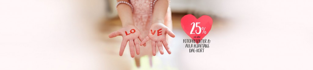 Erbjudande Alla hjärtans dag
