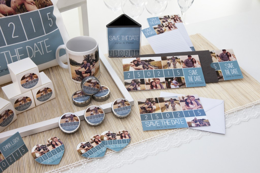 Save the date - fotoprodukter