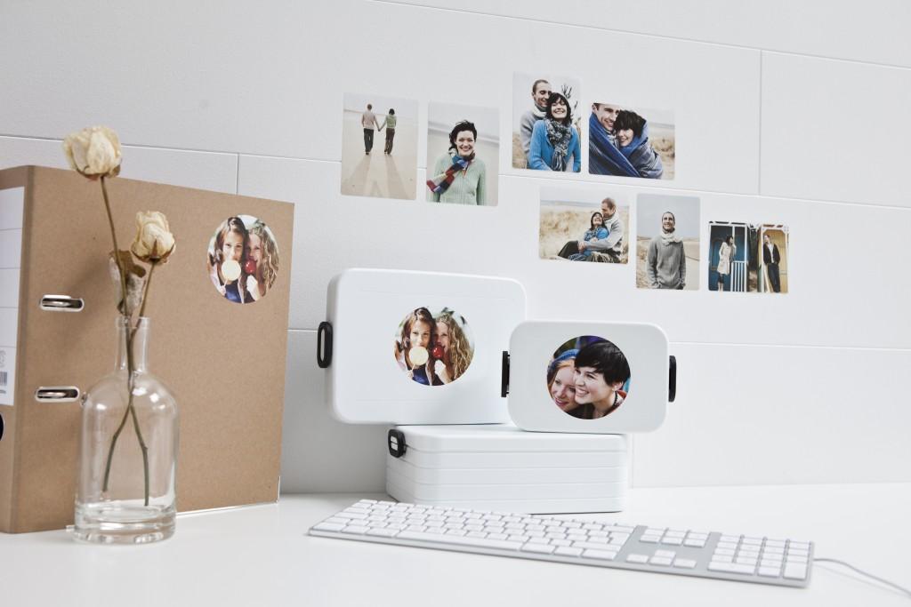 Klistermärken med foto