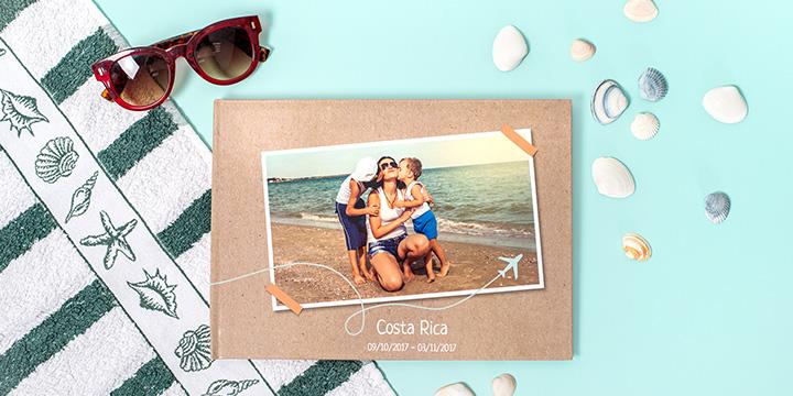 fotobok - sommarbilderna i en bok