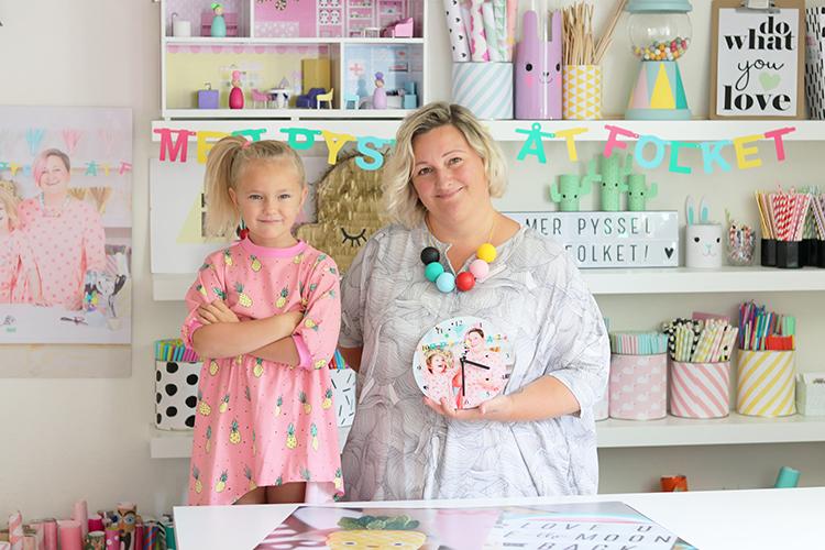Kreativa Karin och Lena