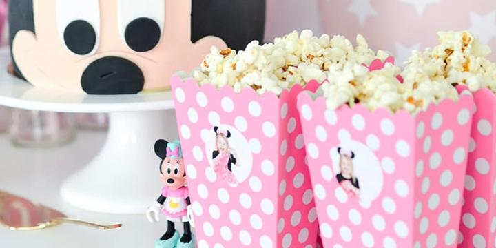 temafest - popcornbägare