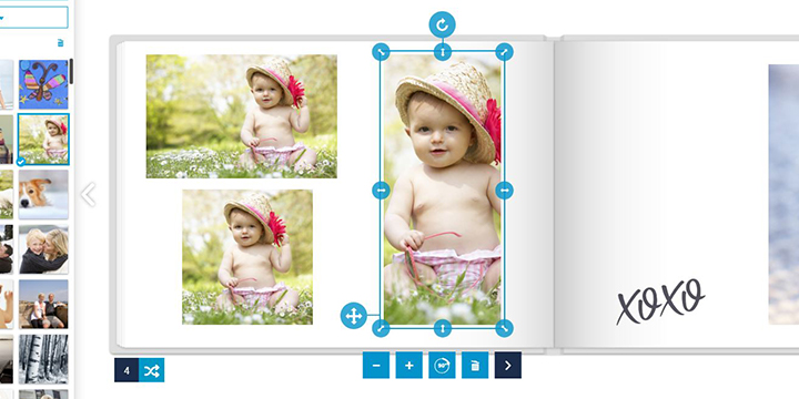 Fotobok - storlek på bild