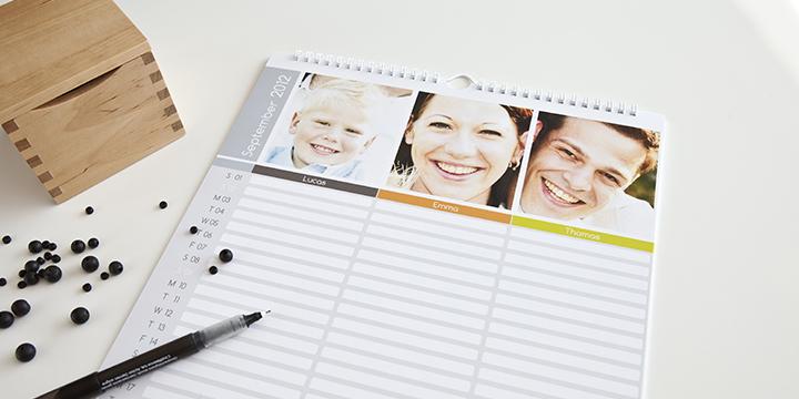 Kalender - familjeplanerare