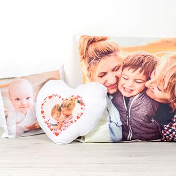 persoonallinen lastenhuone - tyyny-valokuvalla