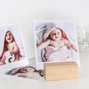 Gravidfotografering - bilder med trähållare