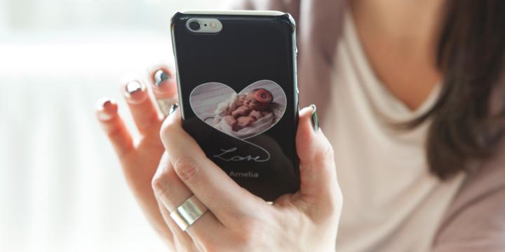 Gravidfotografering - mobilskal