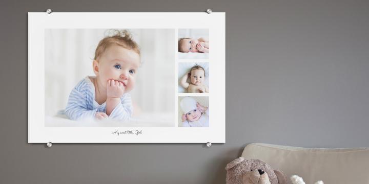 Gravidfotografering - akrylglastavla