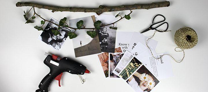 Så gör du en väggmobil med foto – 5 unika versioner – vilken är du?