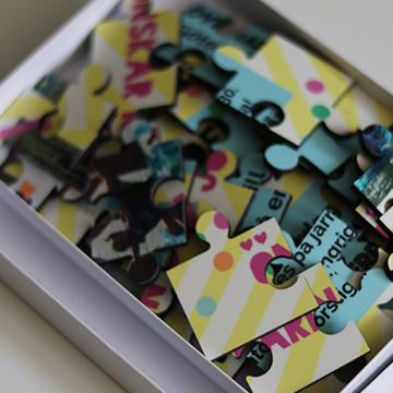 sommarpyssel - pussel med foto
