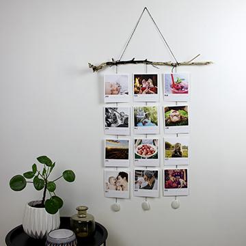 väggmobil - fotokalender