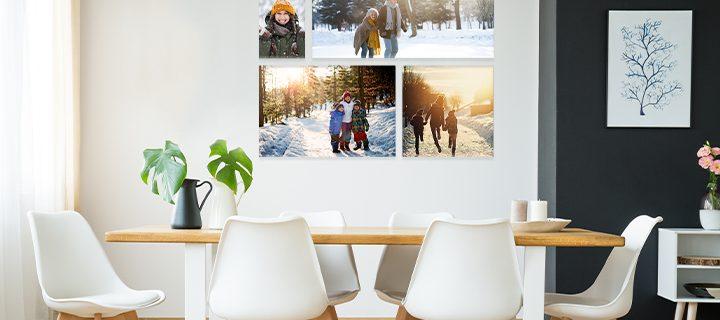 Gör en fotovägg i ett nafs!