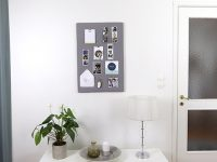 VIDEO DIY – Så gör du en vacker förvaringstavla av en fotocanvas!