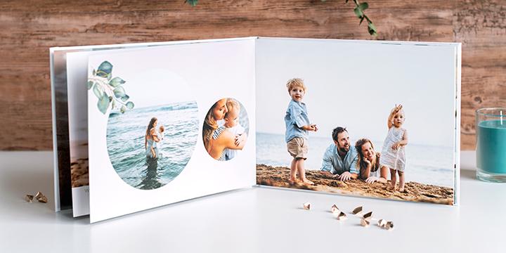 Fotobok med dina semesterbilder