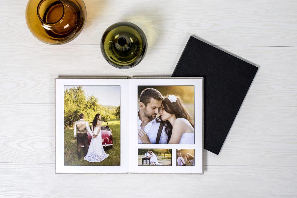 Bröllopsfotobok