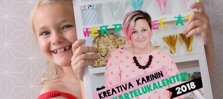 Kreativa Karinin askartelukalenteri – perhekeskeistä ajanhallintaa!