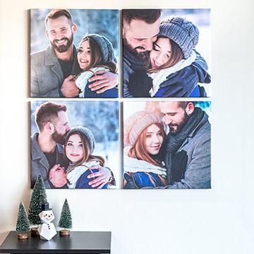 Fotovägg - en tavelvägg med dina bilder
