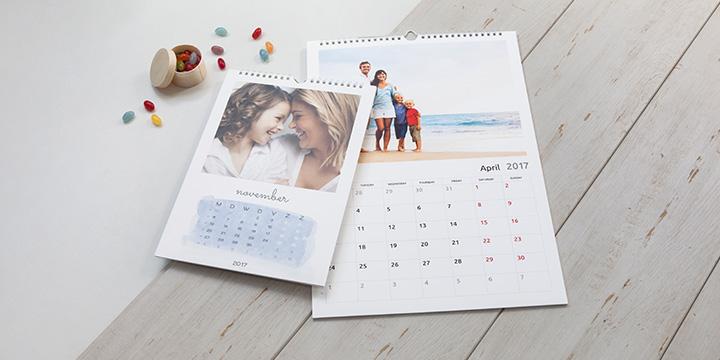 Kalenteri - seinäkalenteri