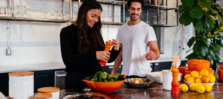 Keittiöinspiraatio – Viisi vinkkiä helpottamaan arkiruoanlaittoa