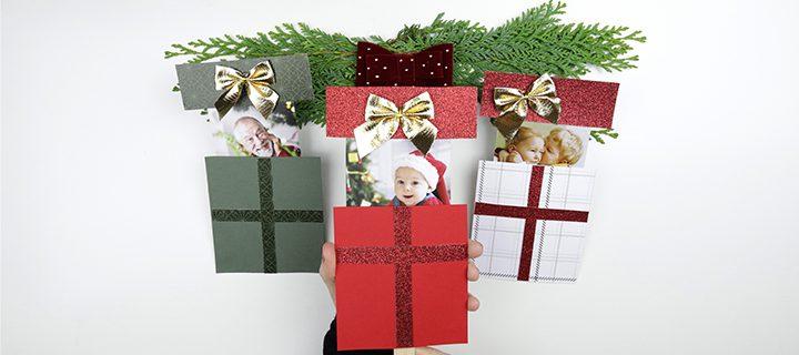 🎅 Näin teet pop-up joulukortin valokuvalla – DIY VIDEO