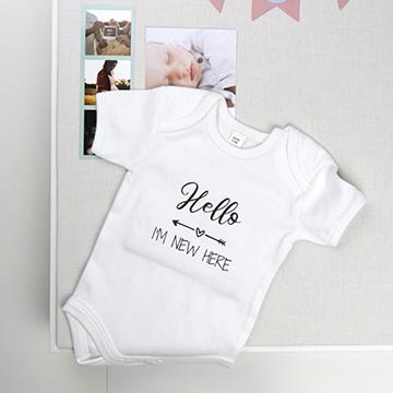 Ensimmäinen vauvabody- oletko nähnyt, että voit luoda oman designin Smartphotolla?