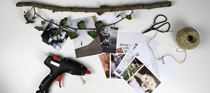 Sådan laver du en væguro med fotos – 5 unikke versioner – hvilken en er du?