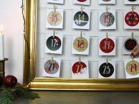 DIY julekalender – Sådan laver du en flot, hjemmelavet julekalender!