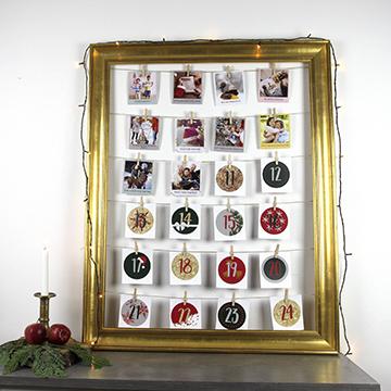 julekalender med dine egne billeder