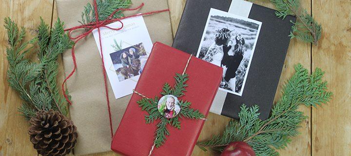 3 kreative måder at pakke dine julegaver ind på