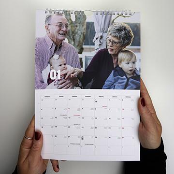 Sådan laver du en moderne fotokalender!