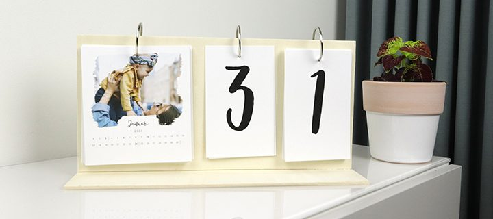 DIY VIDEO – Sådan laver du en moderne fotokalender!