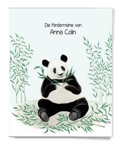 Kinderbuch MyNameBook Panda
