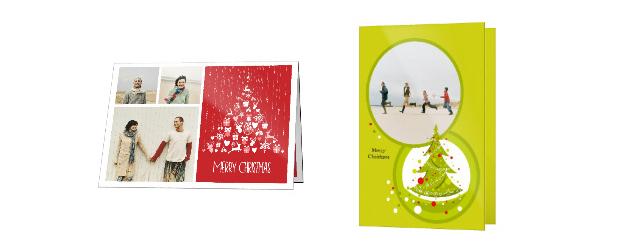 Falt-Grusskarte Weihnachten