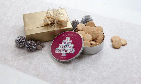 Weihnachtsgeschenke mit Fotos
