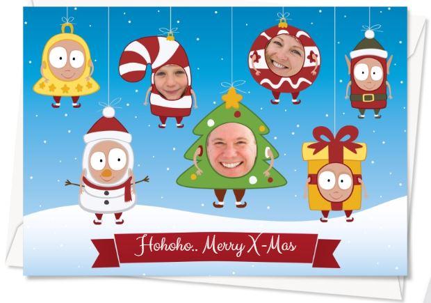 Weihnachtskarten Mit Eigenem Bild.Gestaltung Von Weihnachtskarten Mit Fotos Geschenkideen