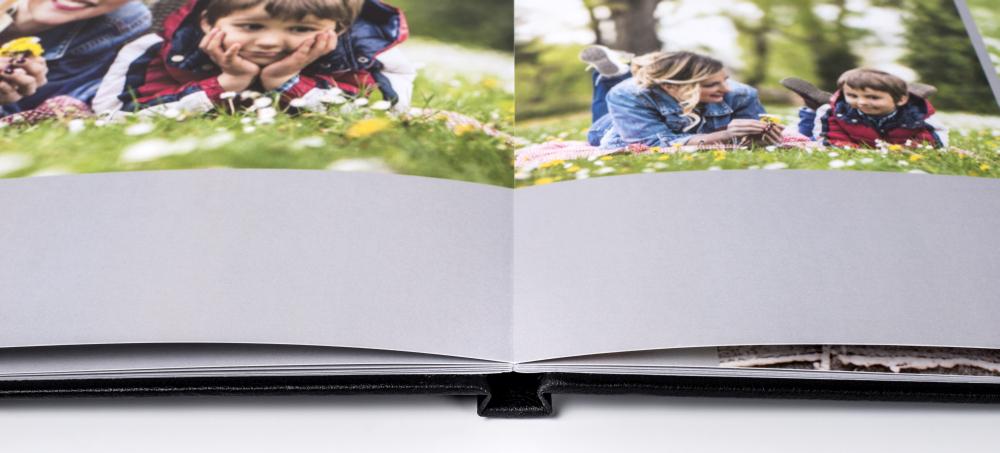 Fotobuch mit Panorama-Flachbindung