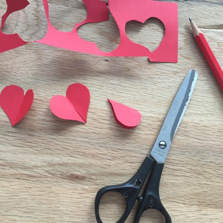 Herze zum Valentinstag