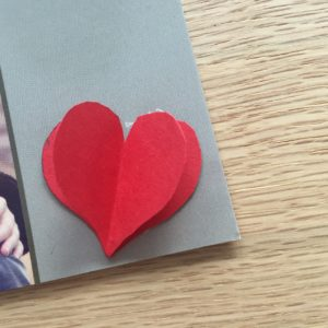 Foto-Grusskarte personalisiert Valentinstag