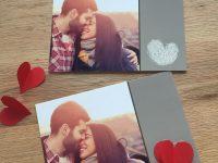 Foto-Grusskarten zum Valentinstag mit dem gewissen Extra