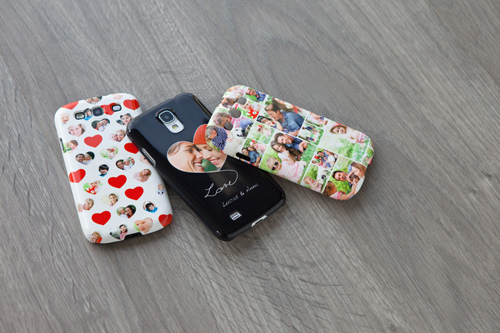Smartphone Hülle mit eigenem Foto als Valtentinsgeschenk