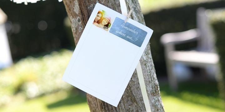 Wunschblätter für schöne Erinnerungen