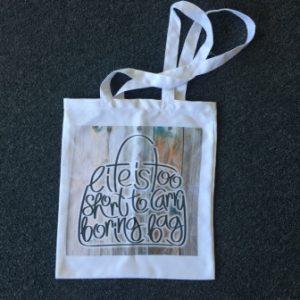 Einkaufstasche personalisiert mit Text