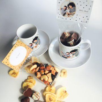 Kaffee Set mit Fotos