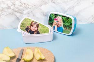 Lunchbox mit Foto