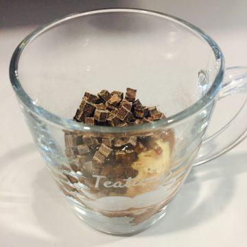 Schoko-Mug-Cake für Mikrowelle