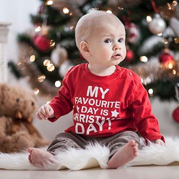 Baby-Sweatshirt Weihnachten