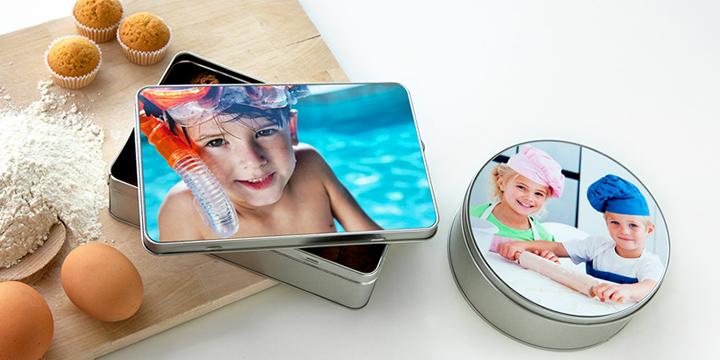 Keksdosen personalisiert mit Foto