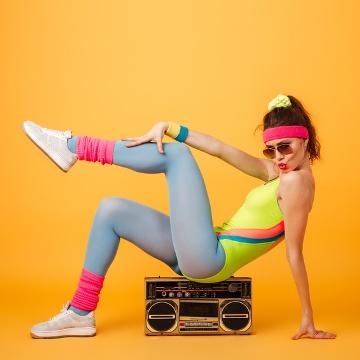 party-silvester-motto-aerobic-janefonda-achtziger-smartphoto