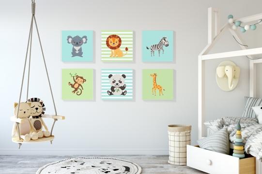 Leinwände fürs Kinderzimmer - Geschenkideen & Fotogeschenke Blog von ...